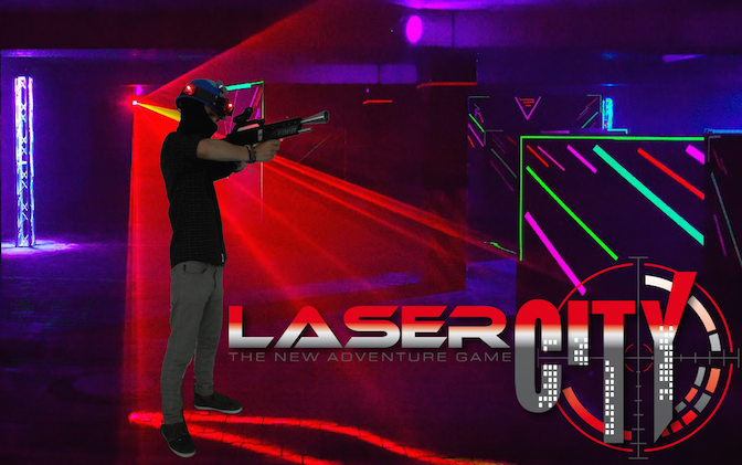 Lasertag Live bei LaserCity
